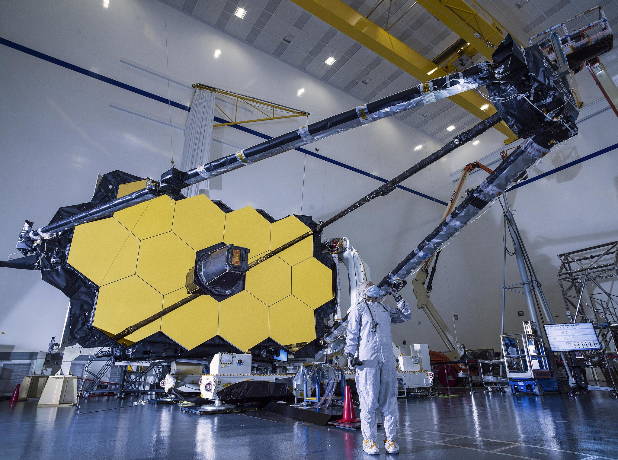 Supporting the Largest-Ever Space Telescope